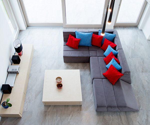 Luxury modern drawing room