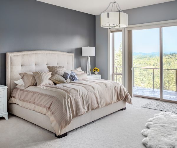 Master Bedroon in New Luxury Home
